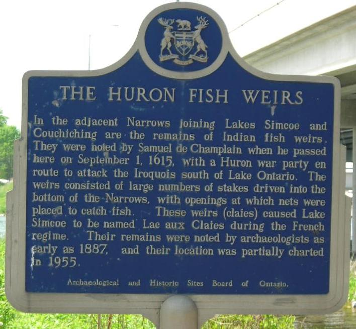 d Ontario Historic Site sign